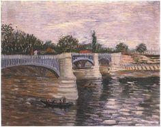 El-Sena con el Pont de la Grande Jatte. Van Gogh
