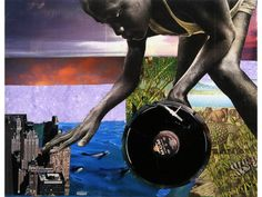 COLLAGE!  Krista Franklin, Transatlantic Turntable-ism (2006)