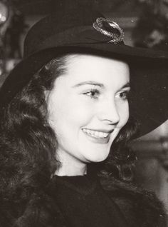 "Vivien Leigh out and about, c. late 1940  ""Dear Lord, I'm so grateful I'm still loved."""