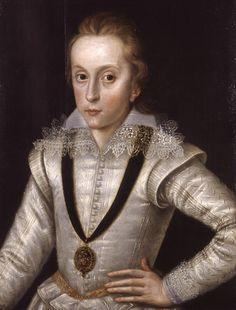 Portrait of Henry Frederick, Prince of Wales: 1603-1605, Robert Peake - The Elder