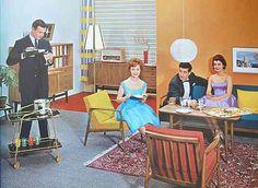 Möbel 50er Jahre