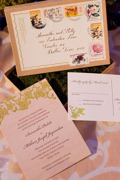 Really cool invitations  Photography by www.thisbegrace.com, Submitted by