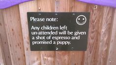 Great sign at National Trust Killerton!