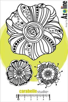 Acheter Tampon Azoline : Fleurs d'Azoline - CARABELLE