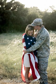 Love this sweet couple, and so blessed to take their pictures! © Guided Light Photography by Jessica Jacob Military couple, couples pictures