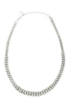 Jolie & Deen Circle Linked Necklace Silver http://zipmeup.co.nz/Jolie-and-Deen/Circle-Linked-Necklace-Silver xx