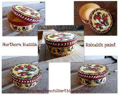 Sunstone Folk Art: Rakulsk painting - Ракульская роспись