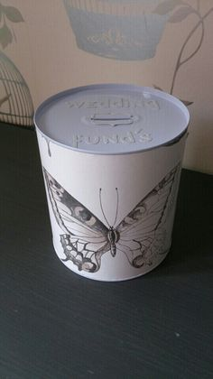 Wedding savings tin.. purchase a cheap money savings tin and cover in a sample of your chosen wall paper. Then start saving. Remember to include the date you started on the back and dont touch until really needed :)