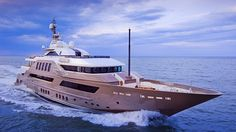 CRN, the brand of the Ferretti Group specializing in production of 50m to 90m steel and aluminum yachts, has presented...
