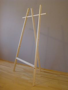 $103 - Wooden Clothing rack Pikku-Mötsö by homedecoTupiko on Etsy