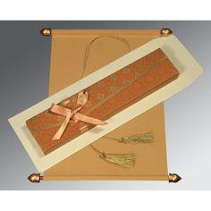 Scroll Wedding Cards - CSC-5016C