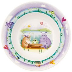 Plato hondo infantil Lily in Magicland Villeroy, Lily, Plates, Tableware, Kitchen, Medium, Products, Dinnerware, Kitchen Dining Rooms