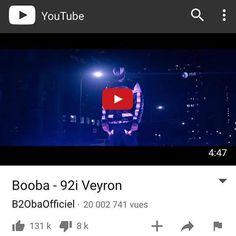 "BOOBA "" #Repost @boobainfos  20 millions  #SombreEstLeNombreDeVues #92iVeyron #NeroNemesis"" #92i #booba"