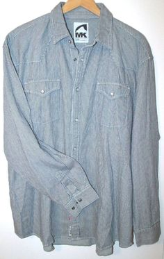c0251980bc6 Mountain Khakis MK Men s Original Mountain Denim Casual Shirt Railroad  Casual Shirts