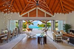 Seashell Beach Villa - Great Room