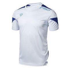 Men s T-shirt Summer Slim Fit Short Sleeve Wuick Dry Soccer Men s T-shirt  Summer Slim Fit Short Sleeve Wuick Dry Soccer d7bf22739