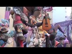Las fallas de Valencia, fiestas de España - YouTube