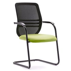 Revolving Chair Without Wheels Retro Table And Chairs 34 Best Office No Castors Images Bass Mesh Back Cantilever Visitor