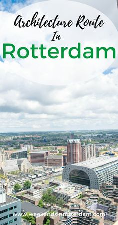 Want to explore the modern architecture in Rotterdam? Use our Architecture Route in Rotterdam for some inspiration. Backpacking Europe, Travelling Europe, Travel Europe, European Travel, Amazing Destinations, Travel Destinations, Day Trips From Amsterdam, Amsterdam Travel, European Destination
