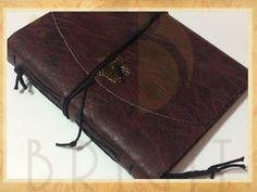 Estúdio Brigit - Livros Artesanais & Arte: Livro Medieval Small Rosette (Medieval Book)