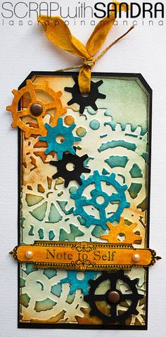 Scrap with Sandra: Tag, tag, tag !!!