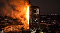 247London Fire Takes A New Twist As FireFighters Work Continuously: 247NigeriaNewsUpdate (Video)