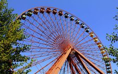 #colourful #ferris wheel