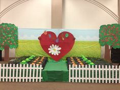 Big Heart Farms VBS decor
