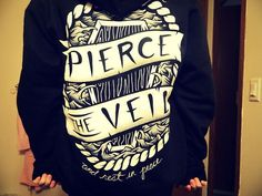Pierce the veil sweatshirt.. i have fallin` in love with this sweatshirt