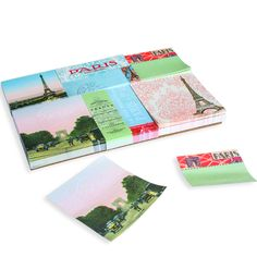 For every task, tidbit, and to-do, nothing's more noteworthy than this Paris Sticky Note Set. Delightfully packaged in a silvery tin, it just might be the handiest stocking stuffer of all time.