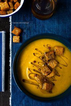 Zupa krem marchewkowo-brokułowy | Kawa i Czekolada