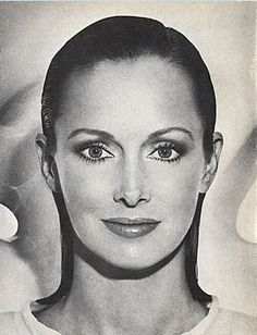 Karen Graham, the 1970's face of Estée Lauder