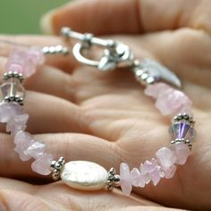 Pregnancy Loss and Healing Memorial Bracelet  by TheFertileGarden, $23.00