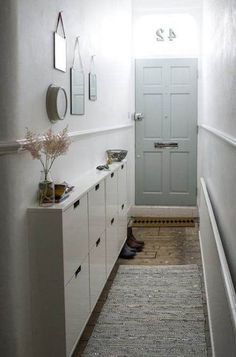 ikea living room Living room ikea decor small spaces 69 Ideas for 2019 Entryway Shoe Storage, Diy Shoe Storage, Cupboard Storage, Storage Spaces, Entryway Ideas, Hallway Ideas, Ikea Entryway, Cubby Storage, Small Storage