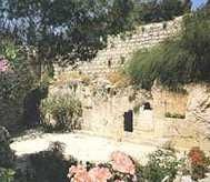 The Garden Tomb is the site where many believe Jesus' body was laid after His crucifixion. Three days later, Jesus rose from the grave; for the grave was not able to hold Him.
