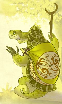 kai and oogway | Tumblr