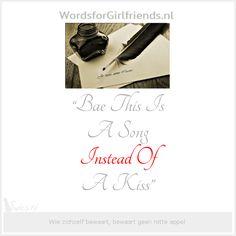 #Your Favourite Waste,… | WordsforGirlfriends.nl