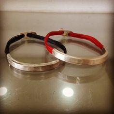 Unisex silver bracelet by Flora Lampadinou