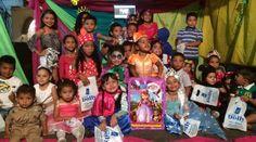 Niños de Las Veredas-Piedras Blancas celebraron a todo dar estos carnavales