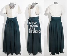 Waist Skirt, High Waisted Skirt, Fashion Design Portfolio, New York Art, Studio, Skirts, High Waist Skirt, Studios, Skirt
