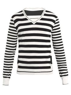 Fancy - ALEXANDER MCQUEEN Striped jumper from Matches Fashion