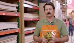 What Home Depot ads should really be like.