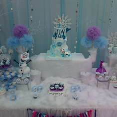 Frozen Birthday Party Ideas   Photo 1 of 41   Catch My Party