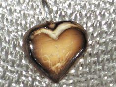 Tagua Nut Heart by RoArt on Etsy #hvnyteam