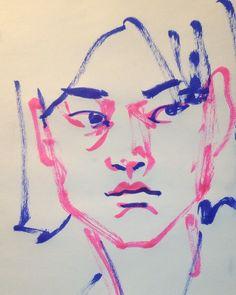 1mindrawさんはInstagramを利用しています:「#1mindraw #ichikawamikako #市川実日子 #尾頭ヒロミ #シンゴジラ #19780613 #birthday #誕生日 #portrait #筆ペン画」