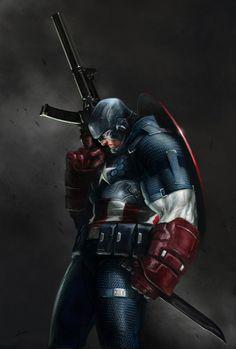 Captain America - Alexander Lozano