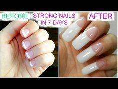 How To Grow Long Strong Nails Fast At Home SuperPrincessjo - Healthy Nails Grow Long Nails, Grow Nails Faster, How To Grow Nails, Long Natural Nails, Natural Acrylic Nails, Acrylic Nails At Home, Nail Growth Tips, Nail Care Tips, Mickey Nails