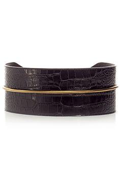 Lanvin Leather Cuff