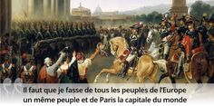 Aujourd'hui sur notre site, Napoléon et le monde, en citations. Une histoire qui commence bien et finit très mal.