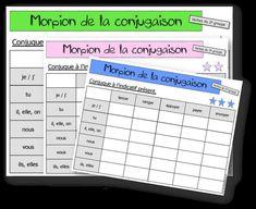 Futur Simple, Periodic Table, Ainsi, Logo, Verb Words, Grammar, Fle, Index Cards, Preschool